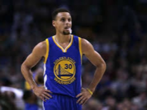 Stephen Curry in Golden State Warriors.