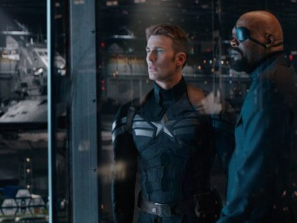 More political thriller than superhero blockbuster, Captain America's second solo film — and the best Marvel jam of them all — taps into timely themes of privacy concerns, an enemy growing from within, and military might used in ethically questionable ways. Come for the timeliness, stay for Cap wrecking a bunch of guys in an elevator.