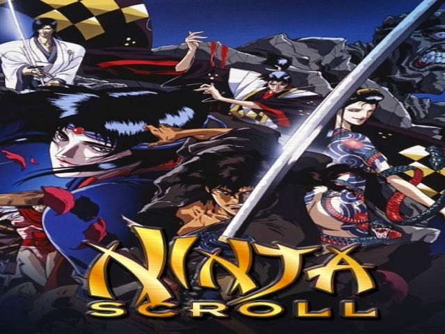 The film takes place in feudal Japan and follows Jubei Kibagami, a mercenary swordsman who battles the Eight Devils of Kimon, a team of ninjas with supernatural powers who are intent on overthrowing the Tokugawa shogunate. During his quest, he is aided by Dakuan, an elderly but crafty government spy, and Kagero, a Koga kunoichi whose body is infused with poisonous toxins. Ninja Scroll's story and style was influenced by the works of novelist Futaro Yamada and Western spy fiction, with Jubei's character being loosely inspired by the historical figure Yagyū Jūbei Mitsuyoshi.
