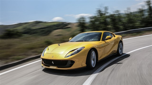 With a claimed top speed of 211 mph, the name 812 Superfast is not mere hyperbole.