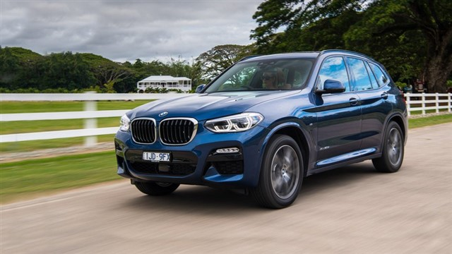 Redesigned for 2018, the X3 tops its class. This luxury compact SUV combines driving enjoyment, comfort, slick technology, and utility in one appealing package. Its power is smooth and nearly immediate when you press the gas pedal, even with the base turbo four-cylinder engine. (Drivers can step up to the 355-hp M40i for truly exhilarating performance.) Sharp, sporty handling encourages drivers to seek curvy roads. The firm suspension makes you feel safe and confident, and yet the X3 does a good job soaking up ruts and bumps. Because it's extremely quiet, richly appointed, and offers supportive seats and an easy-to-use infotainment system, the X3 is certain to delight those looking for an upscale SUV that is polished and fun to drive.Price as tested: $53,745