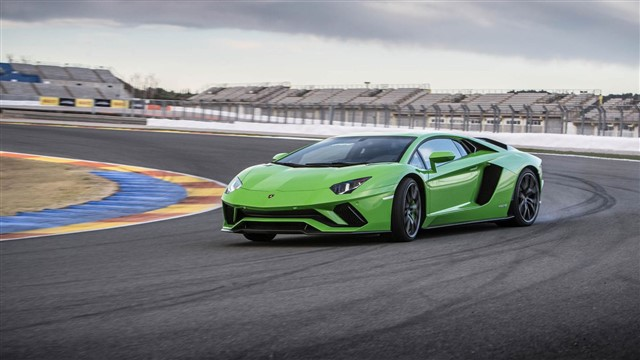Brutally powerful and obscenely flamboyant, the Aventador is unburdened by reality.