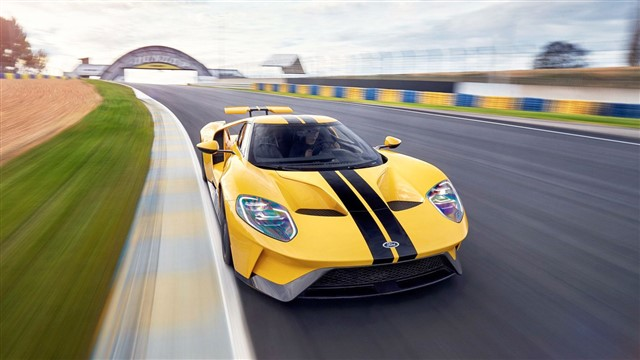 Ford's Ferrari-fighting hypercar is a wild-styled track star worthy of its name.