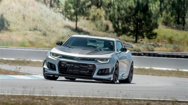 Track tuned and ready to rumble, the ZL1 is king of the muscle cars, earning a 10Best Cars award for 2018.