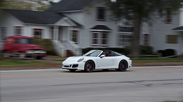 The 911 debuted in the 1960s and stays true to its roots as the quintessential sports car.