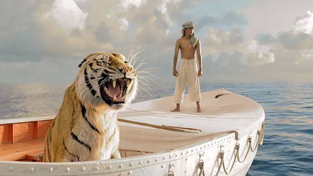 Few CGI effects are harder than hair: all those infinitesimal shafts, the light dappling off every one. Which makes it more impressive that Ang Lee set out to make his seaward epic with a digital tiger – a furry costar created entirely from pixels.