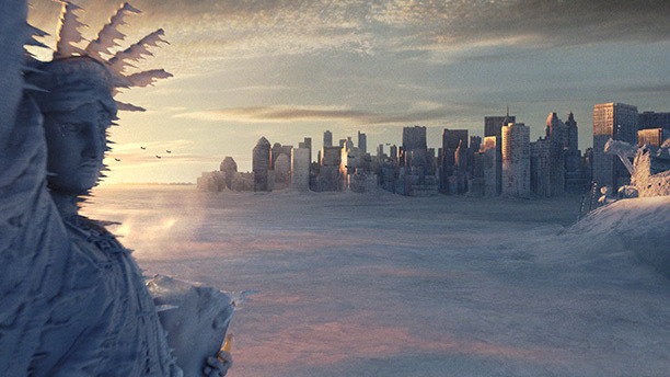 Not satisfied with destroying the White House in Independence Day, Roland Emmerich took on the rest of the world in his global-warming epic. In the craziest moment, a tsunami wave hits Manhattan; you'll never look at the Hudson the same way again.