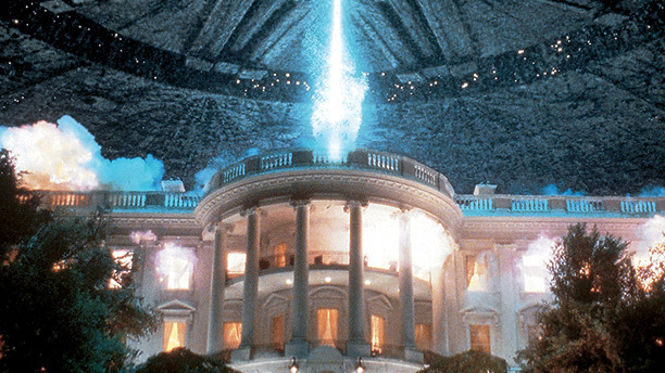 The defining image of cinematic destruction was created using old-fashioned explosives and a model of the White House 10 feet wide. It's still stunning – and, today, horrifically resonant.