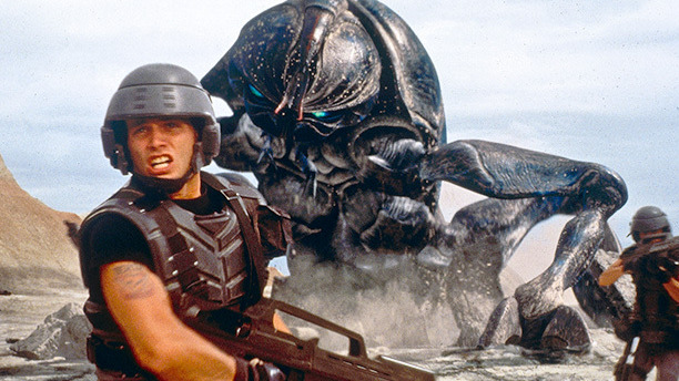 Legendary monster-meister Phil Tippett created the memorable creatures in Return of the Jedi and Dragonslayer. A decade later, he led the studio to create the extraterrestrial Arachnid hordes on Klendathu. The result: nightmare swarms of sinewy monstrosities, like Saving Private Ryan's D-Day sequence for cockroaches.