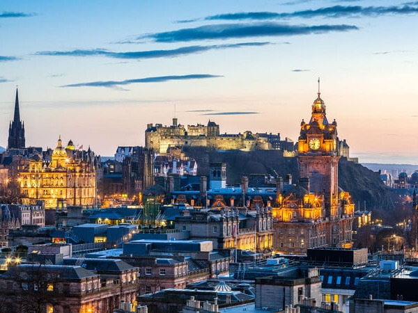Scotland's capital is less daunting than London, but equally dynamic. Tourists typically flock to the Royal Mile (a stone road that delivers kilts and street art with old-timey flair), so take your time exploring the Edinburgh Castle and University of Edinburgh campus. If you high-key feel like you're at Hogwarts, you're not wrong. J.K. Rowling wrote Harry Potter and the Philosopher's Stone from the back room of The Elephant House, a cafe tucked inside Edinburgh's Old Town. Rowling has said that whenever she got stuck, she drew inspiration from the magical city around her.Popular Attractions:Arthur's Seat, Greyfriars Kirkyard, Camera Obscura