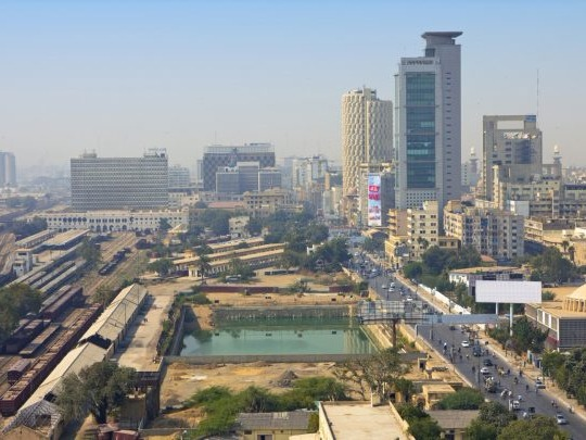 Karachi is the capital of the Pakistani province of Sindh. It is the most populous city in Pakistan, and third most populous city proper in the world. Ranked as a beta world city, the city is Pakistan's premier industrial and financial centre