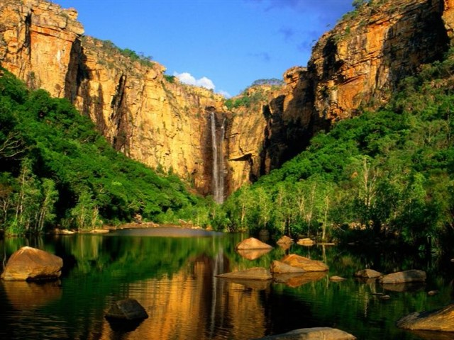 Ditch the big city smoke and head for Kakadu in 2015, Australia's largest national park. Just a few hours from Darwin lie croc-spotting adventures, incredible indigenous history and outback waterfalls and swimming holes (safe from the crocs!). Get into the local wildlife spirit and stay at the croc-shaped Mercure Kakadu Crocodile Hotel.
