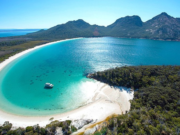 Located on Tasmania's Freycinet Peninsula, this little piece of paradise has been named one of the top 10 beaches in the world. Soak up the deserted beaches, colourful rocks, and delicious local seafood (hint, don't miss the region's oysters). Stay at Coles Bay.