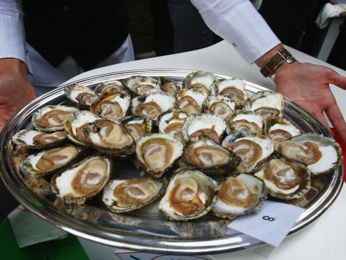 Their appearance isn't just suggestive, it's slap you in the face schoolboy innuendo. They are also high in zinc, which can boost semen production and regulate sexual hormones, but experts believe it's that intimate way of eating - or slurping - the oysters that actually get us going.