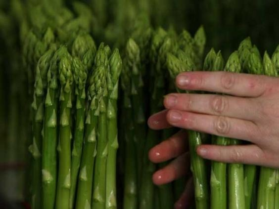 Stop sniggering at the back, yes, they are a funny shape. Asparagus is also a good source of Vitamin E, which is involved in stimulating the production of sex hormones. But realistically, a couple of stalks with your starter on the night in question won't make a huge difference.