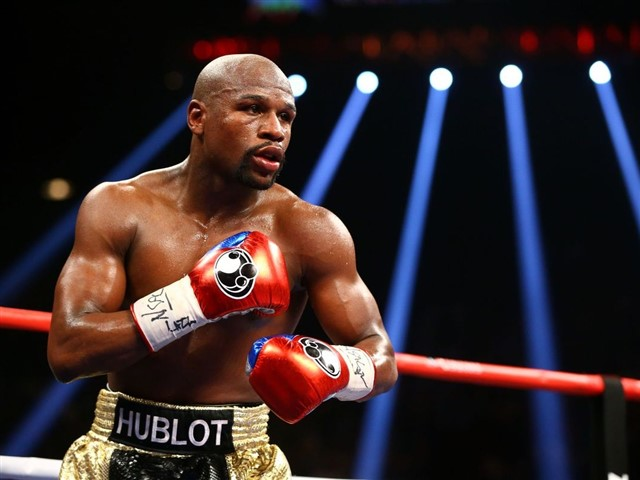 It's not a huge surprise thatFloyd Mayweather is one of the richest athletes of all time. After all, the professional boxer was Forbes' highest-paid athlete and celebrity of 2015.In addition to his $300 million 2015 salary, Mayweather made approximately $15 million in endorsements.CelebrityNetWorth.comreports that the boxing champion's salary is $100 million per fight— way more thanhis first paycheck of $10 million, according to Forbes — and his total career earnings come out to around $700 million.