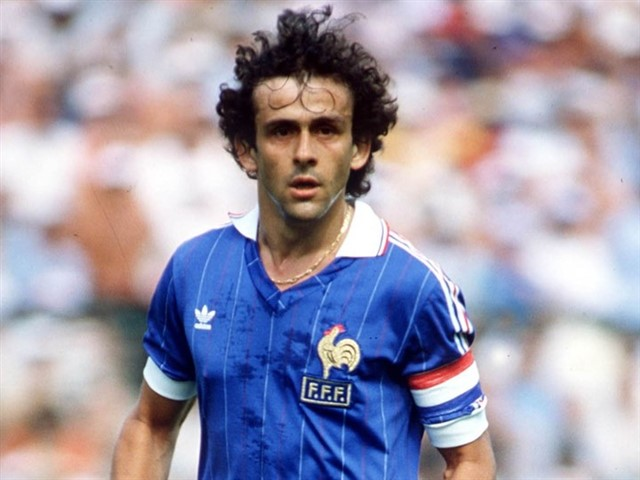 """One of the greatest french player, Michel Platini played most of his 15 year career in attacking midfield roles for Nancy,Saint-Étienneand Juventus. Played over 432 games scored 224 goals helping his sides to number of club honors. Highlight of his club career was 1985 European cup win with Juventus where he played instrumental role and he became the first player to win three back to backBallon d'ORawards in 1983,84 and 85.He also captain France to 1984 European championshipwin which was their very first major trophy in international football. He was declared player of the 1984 european championship and also grabbed the top goal scorer award. He went on to manage France from 1988 to 1992 and later became """"UEFA"""" president."""