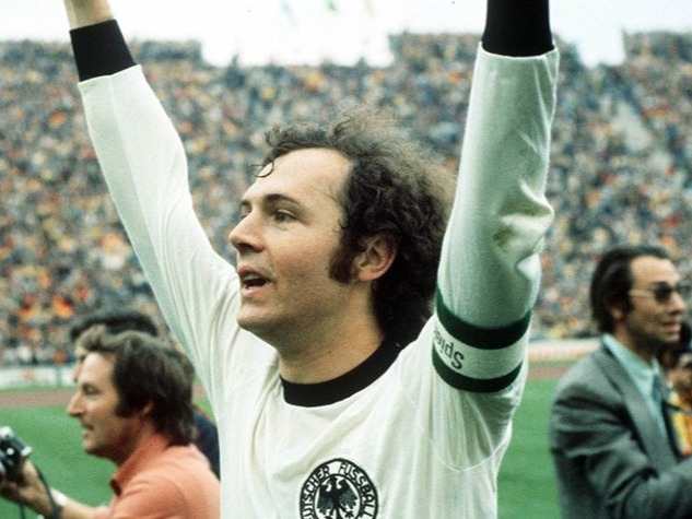 """Bechenbauer is one of the most gracefull footballers of all times, he was not only immensely talented but he revolutionized the game. Usually played as a centre back but it was his ability on the ball as he brought ball out of defense into attacks (known as libero) which made him success. He had hugely successfull career with both his national team (Germnay) and club team (Bayern Munich).His international career was nothing but a success, reaching world cup 1966 final and winning the world cup in 1974 beating netherlands in the final with their """"total football"""" brand. He also win European championship with Germany in 1972. He was not only a great player but a visionary who would go on to have massive success as a coach with Bayern and Germany as well."""