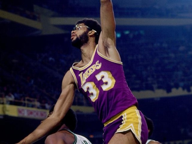 Career playoff stats: 24.3 PPG, 10.5 RPG, 2.4 BPGAccolades: 6 NBA titles, 2 Finals MVPs, 6 reg. season MVPsBefore Duncan, there wasKareem Abdul-Jabbar, in terms of consistency. His ability to maintain such averages while competing for 20 seasons is simply a testament to his greatness.Here's a rundown of Kareem's biggest feats: all-time leading scorer in NBA history, most regular season MVP awards (six), 15 All-NBA selections, 11 All-Defense selections, 19 All-Star appearances.