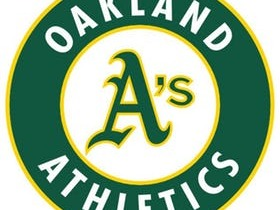 The Oakland Athletics are a professional baseball team based in Oakland, California. The Athletics are a member of the West division of Major League Baseball's American League. The Athletics have played in the Oakland Coliseum since moving to Oakland in 1968. Overall, the A's have won nine World Series championships, the third-highest total in Major League Baseball. The