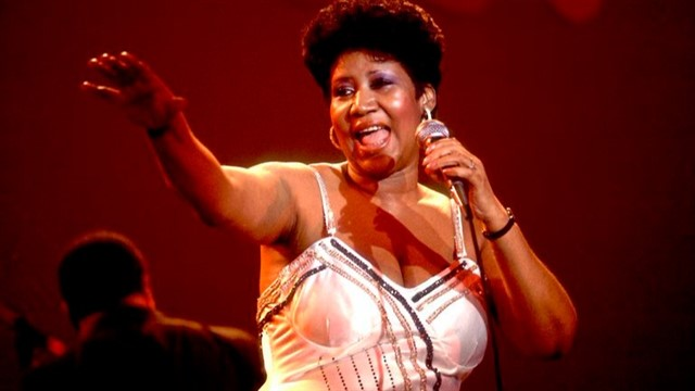 Aretha Franklin is the
