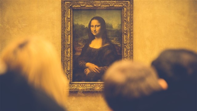 It's the masterpiece of all masterpieces, the most famous, most discussed and most enigmatic of all paintings. It's the portrait of a woman, said to be named Lisa Gherardini, painted by Leonardo da Vinci between 1503 and 1506. It's been on permanent display in Paris since 1797, except for a period of two years when it was stolen in 1911 before returning to the Louvre Museum in 1913. The depicted smile has continuously captured the world's imagination ever since.