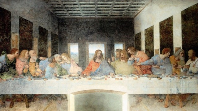 Da Vinci's other masterpiece depicts one of the Bible's most famous scenes. Unlike most other great works of art, it is not in a museum, but covering a wall of a convent in Milan with limited access to visitors. Painted between 1494 and 1498, it's been speculated that one of the twelve apostles seen at the table with Jesus Christ is actually a woman, Mary Magdalene. That played a central role in the best-selling fiction novel