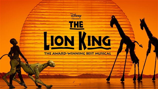 The Lion King is a musical based on the 1994 Disney animated film of the same name with music by Elton John and lyrics by Tim Rice along with the musical score created by Hans Zimmer with choral arrangements by Lebo M. Directed by Julie Taymor, the musical features actors in animal costumes as well as giant, hollow puppets. The show is produced by Disney Theatrical Productions.Authors / Creators: Mark Mancina, Elton John, Jay Rifkin +more
