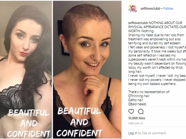 "Body confidence activist Milly went viral after she candidly shared a post highlighting how deceptive photos can be by showing two different images of her self - one wearing tights and one without. She now uses her Instagram account to encourage women to embrace their VBO (visible belly outline). She inspires others to be proud of their bodies and wear whatever they want - even if they've been told it doesn't ""flatter"" them."