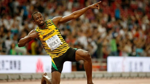 "When Wellesley and Jennifer Bolt gave birth in a small town in Jamaica, they never would have imagined that one day their son would rule the world in his own style. In the history of athletics, Usain Bolt is sheer brilliance! This legendary sprinter holds the 'Numero Uno' spot with his power, demeanour, humbleness, antics and record-breaking timings over 100 and 200m sprint. He is the ultimate in Sprinting History! Will anyone ever break his 9.58sec World Record in near future? He is the reigning World Champion for the 100m, 200m and the 4x100m relay. His greatness is measured for dominating as the Olympic Champion in all the three events. Former Olympic sprinter Pablo McNeil and Dwayne Jarret coached the young Usain during school days at William Knibb Memorial High School. He won his first High School Championship Gold Medal in 2001, followed by a silver medal in 200m. Bolt is an eight-time Olympic Gold Medalist winning the 100m, 200m and 4x100 relay at three consecutive Olympic Games – 2008, 2012 and 2016, the feat, which will be hard to replicate. Unfortunately he lost one gold medal, when it was forfeited because of 'disqualification for doping offence' of one of the teammates of the relay team. 2008 Beijing Olympics will always go down in the athletics history, when BOLT created the extraordinary feat of winning the 100m and 200m sprint events with World Record timings. He has won the coveted title of World Champion 11 times from 2009 to 2015. In 2011, BOLT was out of the 100m finals because of a false start. It was 2009, when Usain Bolt created the magnificence of power, grit and determination to better his own World Record of 9.69sec by running the 100m dash in just 9.58sec. Having broken the 200m World Record twice with a timing of 19.30sec in 2008 and 19.19sec in 2009, Bolt has helped Team Jamaica to create three 4x100m relay World Records. The current World Record for the 4x100m stands at 36.84sec in the year 2012. Nicknamed ""Lightning Bolt"", Usain has been conferred with prestigious awards like the IAAF World Athlete of the Year, Track & Field Athlete of the Year, and Laureus World Sportsman of the Year for four times. In the last race of his track and field career, Usain lost the 100m race to Justin Gatlin and Christian Coleman at the 2017 World Championships. However, he won the hearts of billions with his lighting pose and warm smile. USAIN BOLT is in the CLASS of his OWN!"