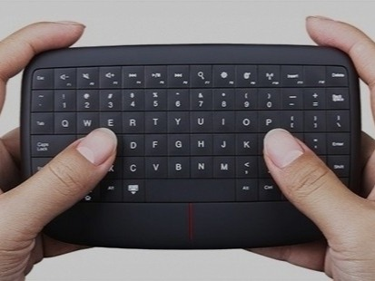 Lenovo has started the year with a good kick. Until now, they sold their mouse combo and keyboard separately. They've however improved the technology into a single multimedia controller that does both tasks. It is not the usual size of a standard keyboard as you'd expect, but it does the job right.