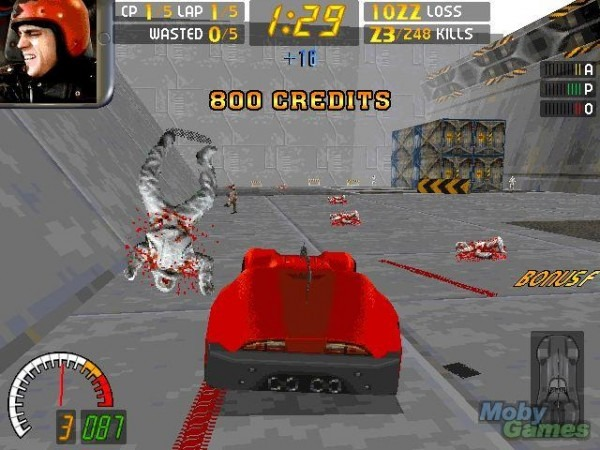 Carmageddon was an oldie but a goodie, being originally released in 1997, although it's had a comeback as an Android app in 2013. The basic premise of the game was that you drove around and tried to run as many people over as possible. It was a little hearted game, but certain pressure groups didn't really see the funny side, and thought it would encourage young drivers to actually hit and run. It was banned in some countries, including Brazil, and heavily censored in others. For example, in Germany the people were replaced with robots and they spilt oil when you hit them rather than blood. The outrage didn't stop the game being popular though, and there were a number of sequels. The name was even hijacked by the Los Angeles authorities to publicise a freeway closure!