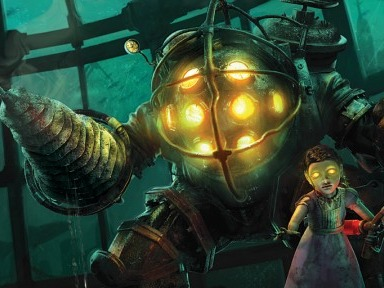 Now, it's not often that a violent video game is also called beautiful. But that's what happened with Bioshock, on its 2007 release. It wowed critics with its immersive graphics, depicting an underwater city in 1960. But it had a disturbing aspect to it – the Little Sisters, mutant little girls that wandered about the city, protected only by their Big Daddies. The game gave you a choice – you could kill the little girls and get more points, or spare them and gain less. Of course, you're meant to do the right thing, but who's going to sacrifice a top score for the sake of not shooting a child in the face? So, little-girl killing it was then….