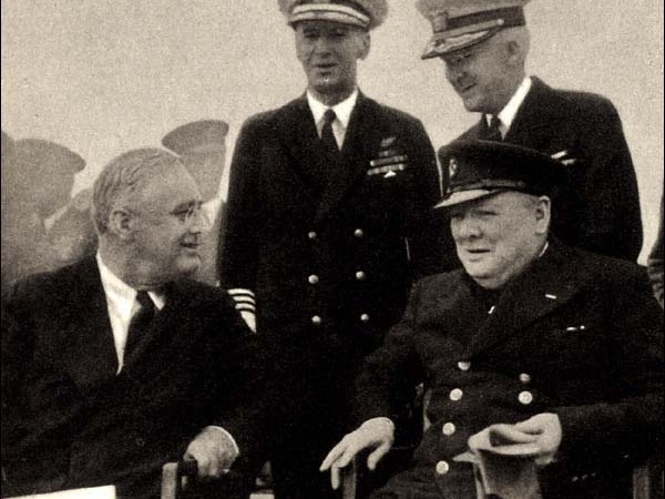 """Now, U-turns don't come much more spectacular than the worldwide carnage of the Second World War. When Roosevelt came to office in 1933, he was staunchly against America's intervention in European affairs. And while Hitler took power in the same year and started the events that would culminate in war, Roosevelt maintained America's isolationist policies, using the Atlantic gap as a reason not to to join the """"stop-Hitler bloc"""" of France and Britain. Even as late as 1940, when FDR was seeking re-election, he vowed to keep the USA out of the war, saying to army recruits """"you boys are not going to be sent into any foreign war"""". Of course, this was before the attack on Pearl Harbor. As soon as that happened, anti-war sentiment in the US disappeared and FDR responded to the general feeling by declaring war on Japan, phoning Winston Churchill to say """"We are all in the same boat now"""". A noble and not unpopular flip-flop, but a contradiction nonetheless."""