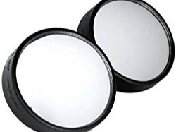 At this point, you probably know that you can't fix blind spots and terrible drivers, but the good thing is, you can be more aware of the dangers when you get a blind spot mirror. The Custom Accessories 71121 2″ Blind Spot Mirror is one of the best blind spot mirrors that offers great functionality at a fair price. The mirror offers excellent clarity, and it's also super easy to attach. Don't hesitate to get this accessory if you really want to feel safe when driving.