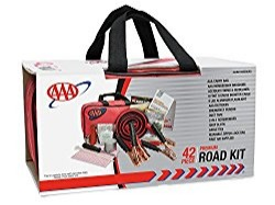 It's highly recommended for every car trunk to have a safety emergency kit in case of inadvertent sticky situations. The AAA Road Kit 42Piece comes loaded with just about everything you need to save yourself — remember, you really never know what will happen!