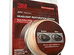 Looking to replace your dirty headlights? Well, don't. You only need something stronger than your regular cleaners, and there's none better than the 3M 39008 Headlight Lens Restoration System. It gives you the chance to restore dull and cloudy lenses in no time — you should be done with the entire process in an hour; your headlights will be brighter and whiter!