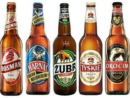 Let's talk about Polish beer. Undoubtedly, Poland is well known for its beer culture and great variety; and above all, for its craft beer. Some of the cheapest beers in Poland are sold is Warsaw, at an average price of $ 2.45; especially the brands: Wojak, Ococim, kaztelan, Å»ywiec, HarnaÅ›, Å»ubr and Tyskie. A curious fact is that, according to a market survey conducted in March 2013, the average Polish man drinks about 75 liters of bottled water and 93 liters of beer a year; stating that they are not just the biggest beer drinkers in Europe but around the world.