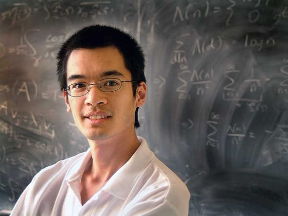 Terence Tao is an Australian mathematician born in 1975. He's currently one of the smartest people 2017 with an incredible IQ of 230 points. At the age of 20 he got his Ph.D. at Princeton University; and at the age of 24 he joined UCLA as a professor, the youngest since its founding. So that, today he's working in harmonic analysis, partial differential equations, additive combinatory, random matrix theory, and analytic number theory.