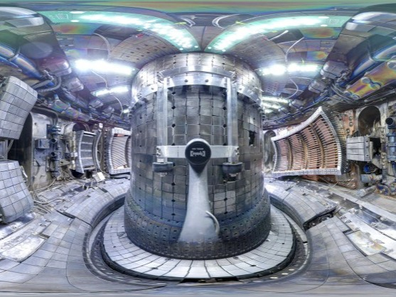 """35 nations have participated to buld the world's largest and most expensive Tokamak, a reactor based on magnetic fusion that is designed to """"prove the feasibility of a fusion as lage scale and carbon free source of energy based on the same principle that powers our sun and stars."""""""