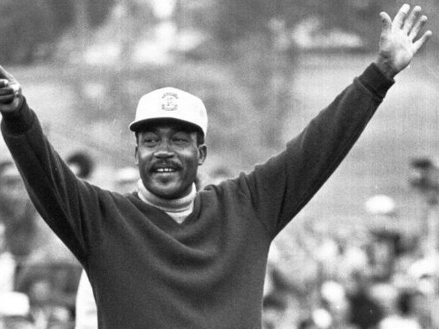 """In spite of his significant role in breaking the racial barrier in the Professional Golf Association (PGA), Charlie Sifford said he wasn't trying to make a historical statement, but simply wanted to play the game he loves. """"I just wanted to play golf, you know?""""he told Fox Sports.""""That's all there was to it.""""Sifford honed his golfing skills as a young caddy in Charlotte, North Carolina, where he practiced on the green after work. In 1952, Sifford received an invitation to play in the Phoenix Open after boxer Joe Louis passed on the invitation from the PGA. As an African-American in those days, he received much mistreatment during his career. Sifford's career highlights include winning the UGA National Negro open five times prior to winning his first PGA Tour. He was the first black individual to get inducted into the World Golf Hall of Fame in 2004."""
