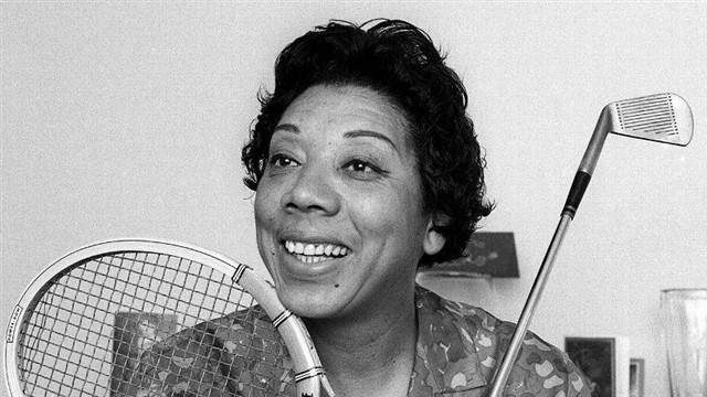 Althea Gibson was an African-American woman who achieved greatness in not one, but two sports:tennis and golf.She found her athletic calling during a tough childhood, which she spent mostly in the Harlem area of New York City. Gibson won a college scholarship in sports after winning numerous tournaments and championships. She was the first black woman to be invited to compete in Wimbledon in 1951. She won the French Open in 1956 and Wimbledon and U.S. Open titles in 1957 and 1958. She became a tennis professional in 1959.Her brief professional golf career wasn't as successful as her tennis career, but Gibson nevertheless broke racial and gender barriers in golf as well. After retirement, Gibson was inducted into the International Tennis Hall of Fame in 1971. She served as the New Jersey Commissioner of Athletics and a member of the governor's council of fitness. Gibsondiedof respiratory failure in 2003.