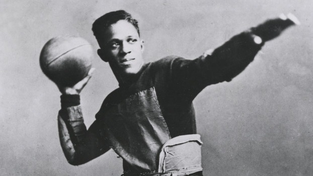 """One of the first black trailblazers of professional football, Frederick Douglass """"Fritz"""" Pollard established a series of firsts. He was the NFL's first African-American coach and the first black person to play in the Rose Bowl(in 1915).This athletically gifted Chicagoan attended Brown University on a scholarship from the Rockefeller family in 1915. He played for the Akron Pros in the American Professional Football League (which was renamed the NFL in 1922) and won a championship for them in 1920.In 1921, Pollard became head coach while still playing pro. He coached NFL teams in Indiana and Milwaukee until the NFL segregated the organization in 1926. Pollard fought back against the NFL's decision until 1937, when he retired to pursue a career in business. Though the NFL discontinued segregation in 1946, actual integration didn't occur until 1962 when Bobby Mitchell signed on with the Washington Redskins. Pollard died in 1986. Three years later, Art Shell became the first black coach (for the Oakland Raiders) in the contemporary NFL. Pollard was inducted into the Hall of Fame in 2005."""