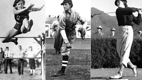 """Babe Didrikson Zaharias defied traditional femininity and proved that women can make exceptional athletes. As""""the World's Greatest Woman Athlete,""""Zaharias dominated tennis, track and field, basketball, golf and baseball. Born Mildred Ella Didrikson, Zaharias got the nickname """"Babe"""" after baseball great Babe Ruth, reflecting her baseball abilities. Her participation in several sports at Beaumont High School in Beaumont, Texas was varied and exemplary. She wontwo gold medals and a silver medalin track and field at the 1932 Olympics.Though very athletically talented, it was said that golf was her sport. She won 82 tournaments, including amateur and professional, and was a founding member of the Ladies Professional Golf Association. She met her husband, professional wrestler George Zaharias, while playing golf; they married in 1938. She died from colon cancer in 1956 at age 45. Among Babe Didrikson Zaharias's legacy area museum dedicated to her in Beaumontand topping several greatest athlete lists in the media."""
