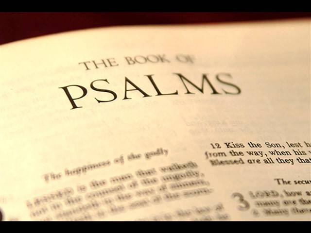 A collection of 150 songs, prayers, and other compositions which make up the 19th book of the Old Testament. Traditionally ascribed to King David, the Psalms have played an important role for millennia in religious ceremonies in liturgy, hymns, and private worship.