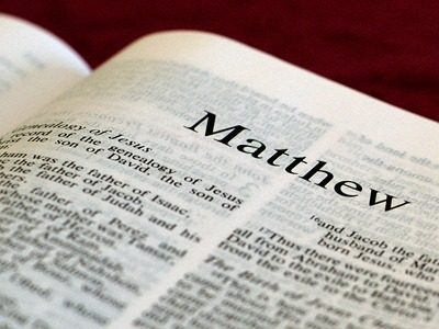 Matthew's Gospel, like all of the gospels, tells the story of the life and ministry of Jesus Christ. Matthew contains a particularly Hebrew emphasis, quoting regularly from the Old Testament, and showing how Jesus fulfilled the expectations so long awaited by God's people. Although it begins with the birth of Jesus, including a visit from wise men from the East, the majority of the story of Jesus' life focuses on his adult life and ministry culminating in his death and resurrection. The Gospel ends with the command to proclaim the good news of Jesus to the ends of the earth.