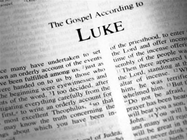 Luke's Gospel, like all of the gospels, tells the story of the life and ministry of Jesus Christ. Luke's Gospel is often said to have been written for a more Gentile audience, though it is important to recognize that the author knew a lot about Jewish traditions and scripture. The story of Luke begins and ends in the Temple in Jerusalem, first with Zechariah's encounter with the angel and finally with the disciples praising God there. The intervening chapters tell of John the Baptist's and Jesus' births; the life and ministry of Jesus and then his death, resurrection and ascension into heaven. One striking characteristic of Luke is his storytelling style, in which he takes particular care to weave stories together in the most effective way possible.