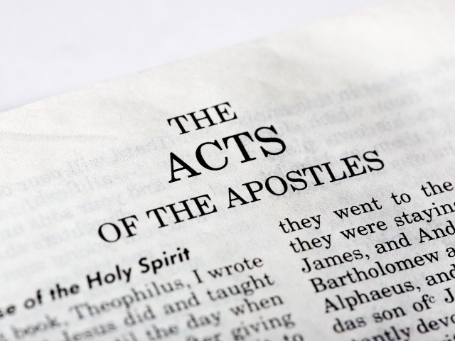 The Acts of the Apostles tells the story of Jesus' disciples from their time in Jerusalem, just after Jesus' ascension, to Paul's eventual arrival in Rome. Roughly the first half of the book concentrates on what happened to Jesus' first disciples and how, inspired by the Holy Spirit, they began to share the good news, first in Jerusalem and then further afield. The second half of the book picks up the story of the apostle Paul (whom we meet first at his conversion on the road to Damascus in chapter 9) who spreads the good news to the Gentiles in Asia Minor (what we now call Turkey), then Greece and finally Italy.