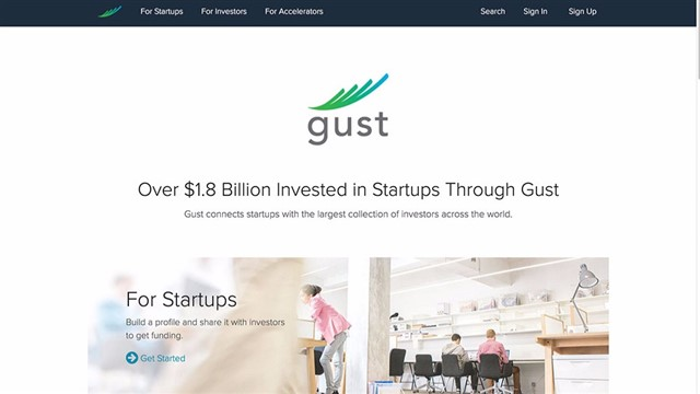 Gust connects startups with a large pool of investors across the world to help raise early-stage funding.