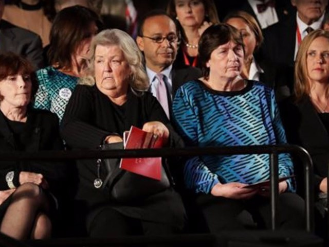 No one will ever forget Bill Clinton's face on the night of the second presidential debate of the 2016 election cycle. Occasionally stealing shifty glances across the room, this former president of the United States and husband of presidential candidate Hillary Clinton seemed somewhat disturbed by the presence of four women in the audience. These women had been personally invited to the debate by candidate Trump, and they all shared one thing in common: Each claimed to have been sexually assaulted by Bill Clinton.